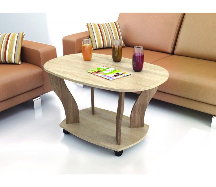 Журнальный столик Тэкс Консул-3 дуб сонома / ясень шимо