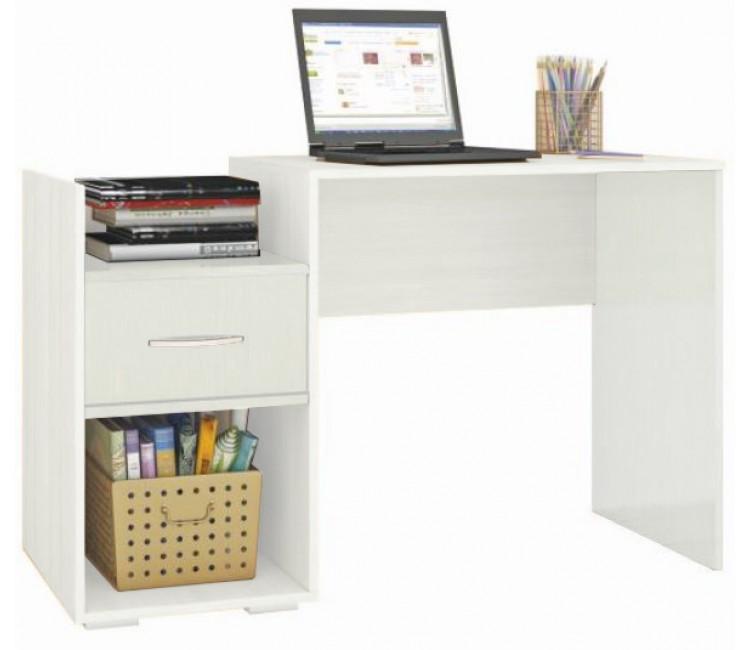 Компьютерный стол Тэкс Квартет-1 белый