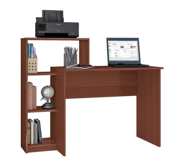 Компьютерный стол Тэкс Квартет-2 + стеллаж итальянский орех