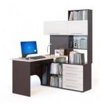 Компьютерный стол Сокол КСТ-14П венге/беленый дуб