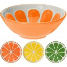 Миска керамическая Альта апельсин