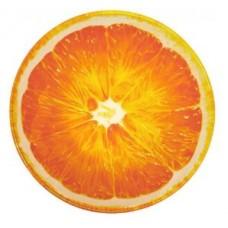 Тарелка стеклянная Альта апельсин