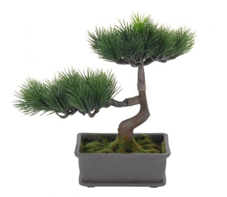 Искусственное растение Альта бонсай сосна в горшке