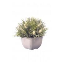 Искусственное растение Альта лаванда в пластиковом горшке