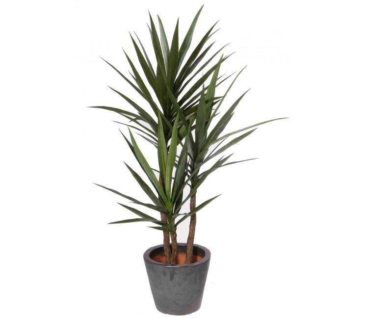 Искусственное растение Альта юкка в горшке