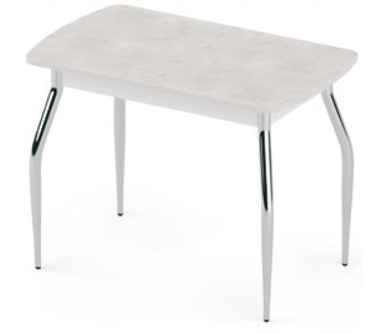 Стол раздвижной 59х100(128) Альта FLY-1 каррера серый