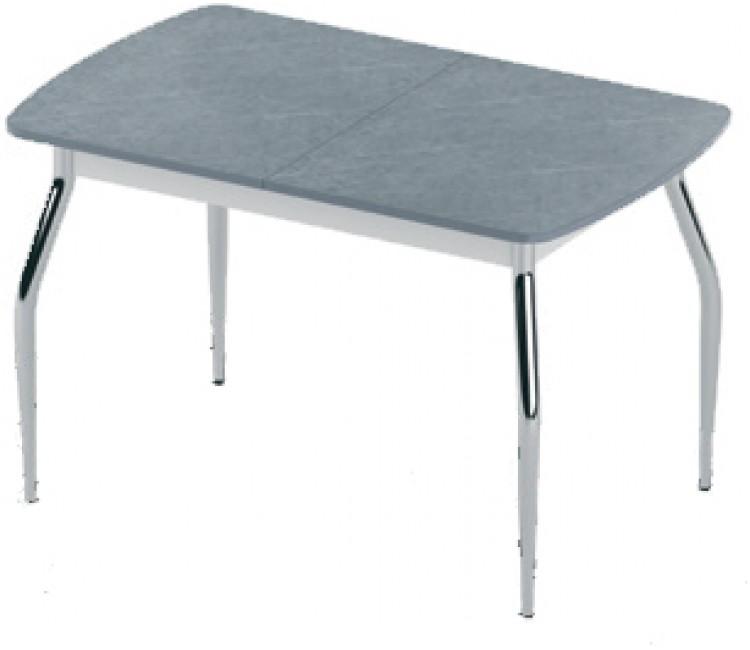 Стол раздвижной 74х120(160) Альта FLY-2 мрамор серый