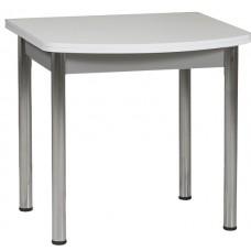Раздвижной стол Форт Ломберный Евро 80х60 белый  серый ноги точеные