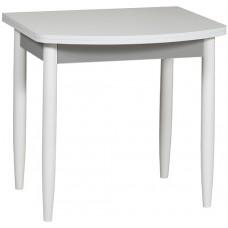 Раздвижной стол Форт Ломберный Евро 80х60 белый серый ноги конус