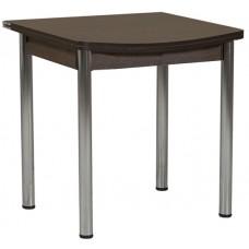 Раздвижной стол Форт Ломберный Евро 80х60 венге ноги хром