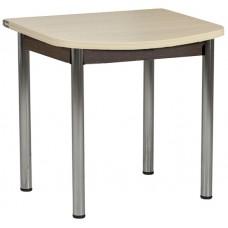 Раздвижной стол Форт Ломберный Евро 80х60 венге светлый венге ноги хром