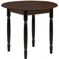 Раздвижной стол Форт Круглый венге ноги точеные