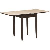 Раздвижной стол Форт Ломберный 60х60 шима светлый венге ноги конус