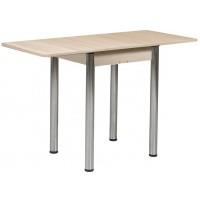 Раздвижной стол Форт Ломберный 60х60 шимо светлый ноги хром