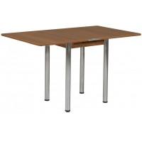 Раздвижной стол Форт Ломберный 60х60 ноче экко ноги хром