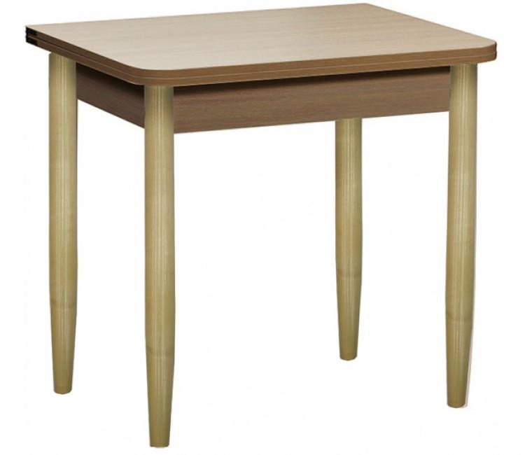 Раздвижной стол Форт Ломберный 80х60 шимо светлый  шимо темный ноги конус