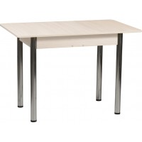 Раздвижной стол Форт Прямоугольный шимо темный ноги хром