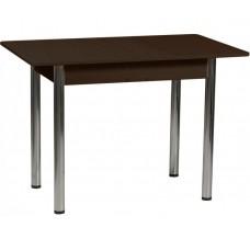 Раздвижной стол Форт Прямоугольный венге ноги хром