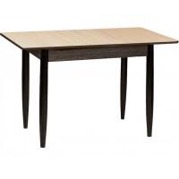 Раздвижной стол Форт Прямоугольный венге светлый  венге ноги конус