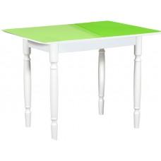 Раздвижной стол Форт Прямоугольный венге светлый ноги хром