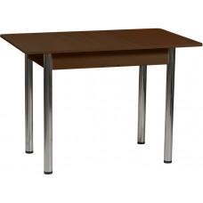 Раздвижной стол Форт Прямоугольный шимо светлый ноги хром