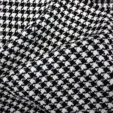 Кресло Cosmo Космо A17 ткань гусиная лапка/черная экокожа