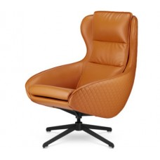 Кресло Prime Прайм оранжевый (искусственная кожа)