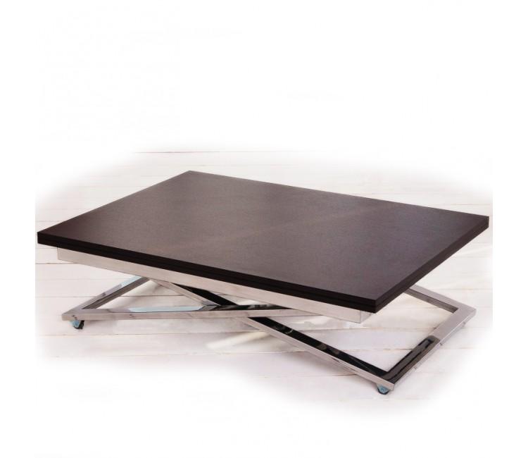 Стол трансформер журнально-обеденный Levmar Compact (Левмар Компакт) венге матовый