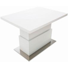 Стол Levmar Slide белый матовый