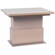Стол-трансформер журнально-обеденный Levmar Slide Слайд капучино глянец