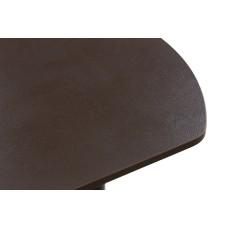 Раздвижной стол Форт Европейский черная кожа ноги конус