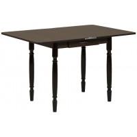 Раздвижной стол Форт Ломберный с ящиком 80х60 венге ноги точеные