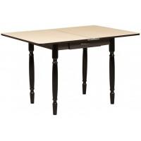 Раздвижной стол Форт Ломберный с ящиком 80х60 венге светлый венге ноги точеные