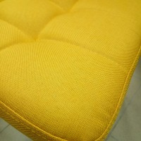 Стул для кухни Aльта DC23 желтый хром