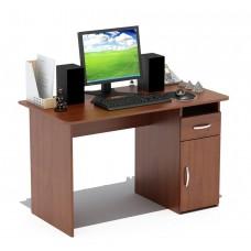 Письменный стол Сокол СПМ-03.1 дуб сонома / белый