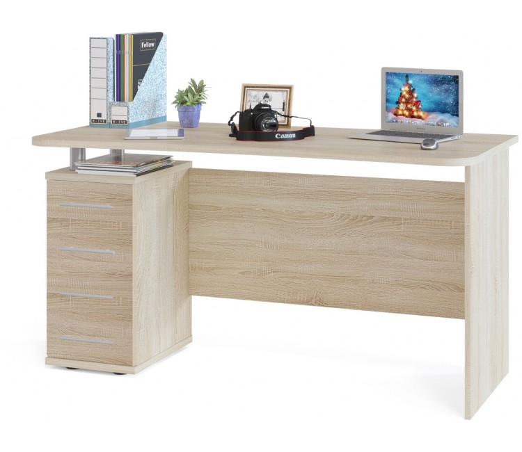 Компьютерный стол Тэкс Грета-15 дуб сонома