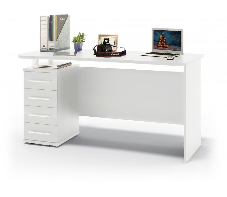 Компьютерный стол Тэкс КСТ-105.1 белый