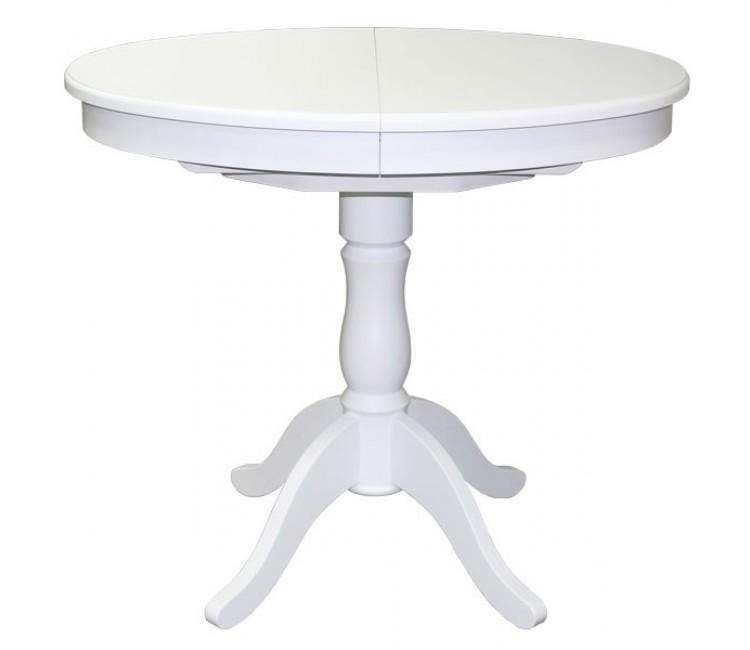 Стол Виста Бари 75x100 (135) белый