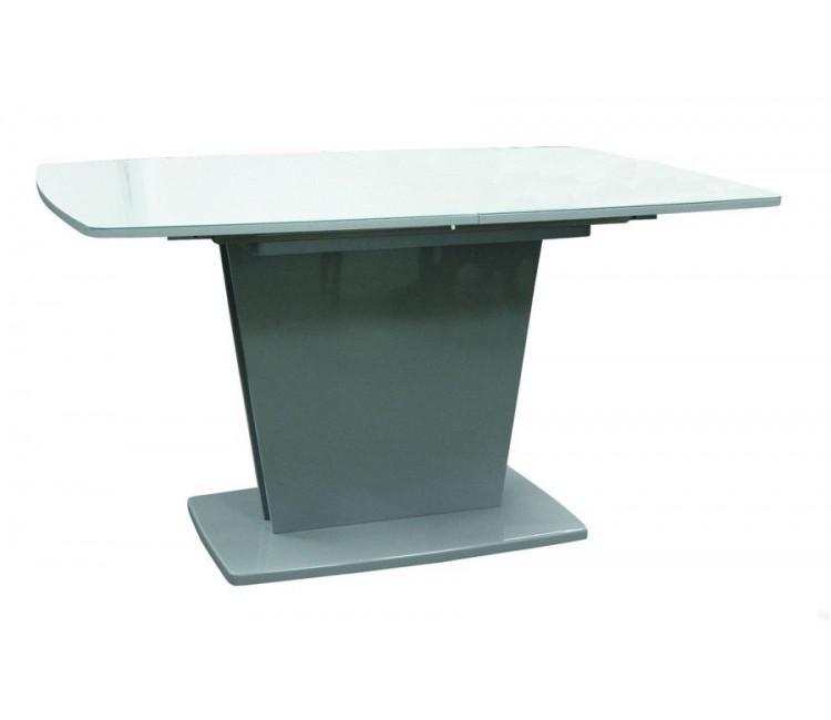Стол Виста Ливерпуль 90х140 (185) серый лак