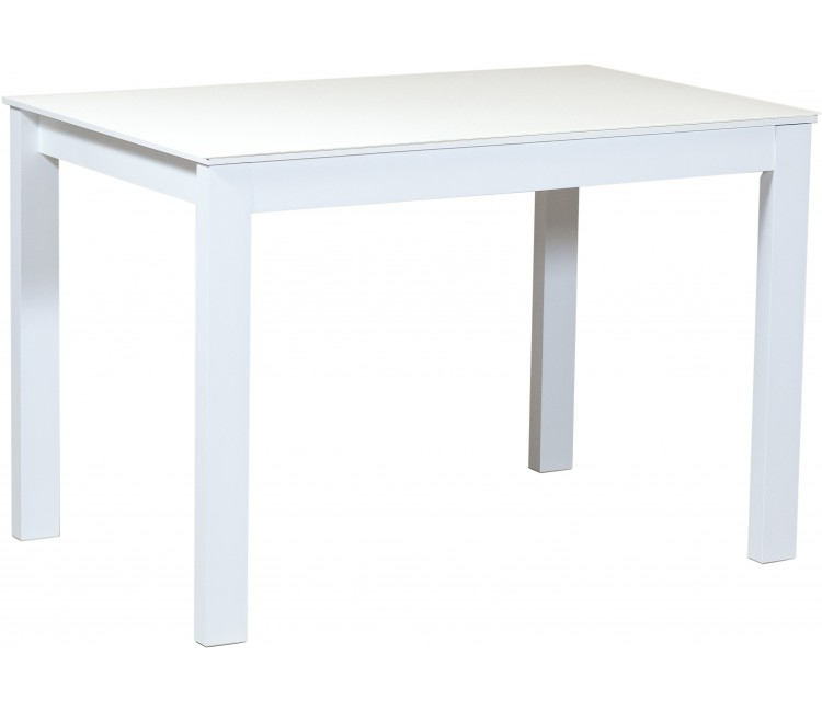 Стол Виста Монреаль 70х110 (160) опаловый белый