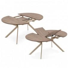 Стол Виста   ОТТАВА 90*135/180 90*135/185 бетон муар графит