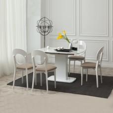 Стол Виста Рио 70х110 (155) белый