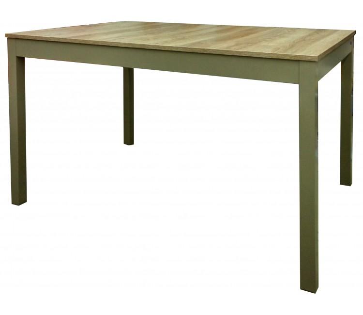 Стол Виста Сеул 80х120 (165) дуб гладстоун