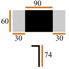 Стол Виста Париж-СТГ 60х90 (150) вишня