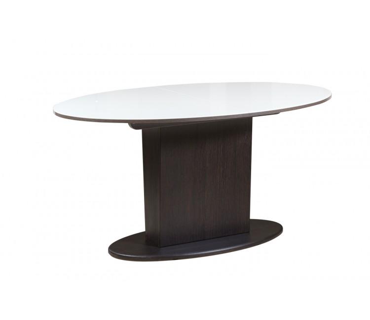 Стол Виста Торонто 96х150 (195) белый / венге