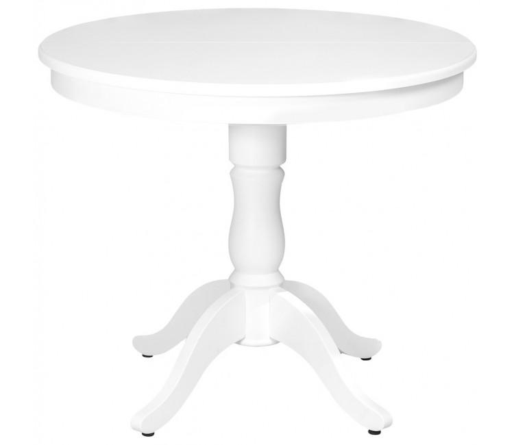 Стол Виста Вена 90 (120) белый