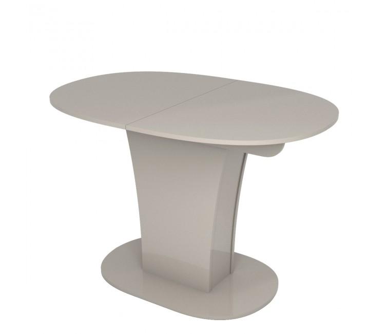 Стол раскладной TURIN (Овальный) Капучино Глянец