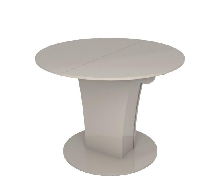 Стол раскладной TURIN (Круглый) Капучино Глянец