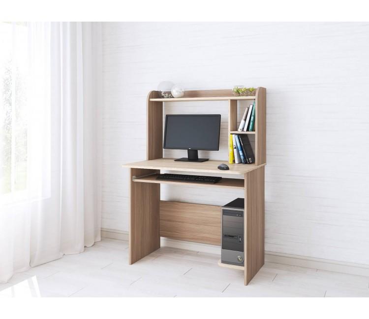 Компьютерный стол Тэкс Грета-2 дуб сонома / ясень шимо