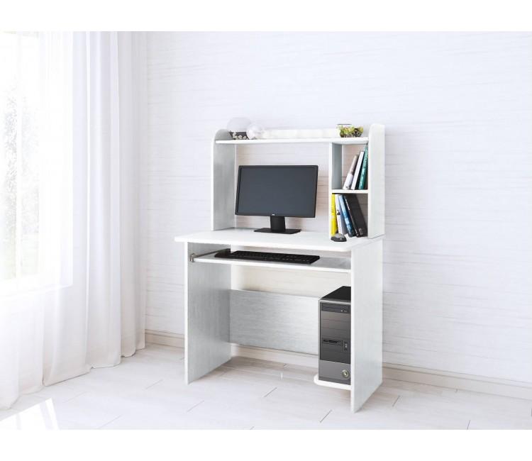 Компьютерный стол Тэкс Грета-2 белый